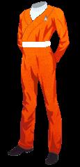 Uniform SFFC Utility Orange