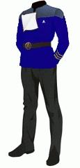 Uniform dress blue commander