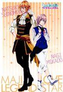 Natsuki & Nagi - Maji LOVE Legend Star - Scan -3
