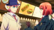 Syo meets Haruka