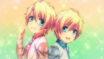 Young Syo and Kaoru