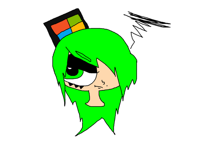 File:Michi in Western animation style.png