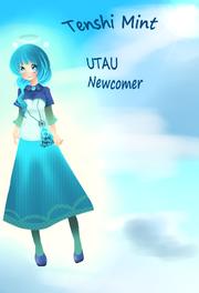 Utau tenshi mint design contest entry by znapple star-d5e6dof