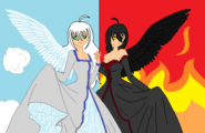 Angels base with clothes by truelycute-d5wb6jf