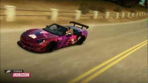 Forza Horizon Kasane Teto designs