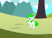 PonyWithBackground