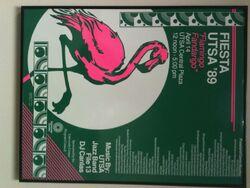Fiesta UTSA '89 Poster