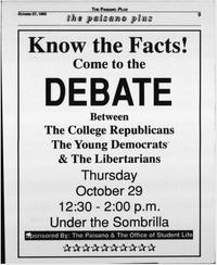 1992 Political Debate