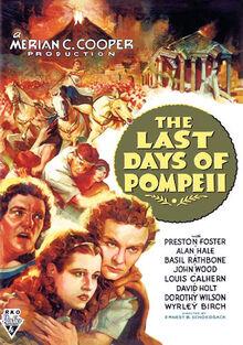 The Last Days of Pompeii 1935 poster