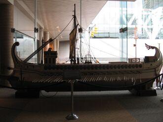 Roman Ship Model from Ben-Hur 1959
