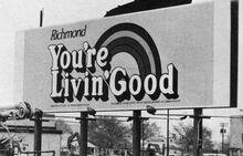 Richmond youre livin good