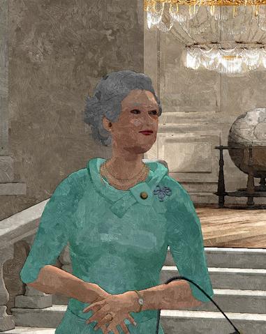 File:Official 2014 Portrait of HM Queen Elizabelph II.png