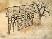 Row&oakcontemporarydrawing