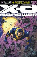 X-O Manowar Vol 3 38 Fowler Variant