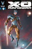 X-O Manowar Vol 3 9 Crain Variant