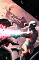 X-O Manowar Vol 3 45 Dekal Variant Textless
