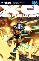 X-O Manowar Vol 3 46 ChrisCross Variant