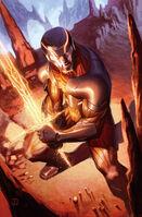 X-O Manowar Vol 3 36 Molina Variant Textless