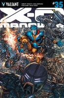 X-O Manowar Vol 3 35 Ryp Variant