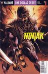 One Dollar Debut Ninjak Vol 1 1