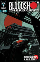 Bloodshot and HARD Corps Vol 1 22 Torre Variant