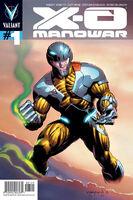 X-O Manowar Vol 3 1 Nord Variant