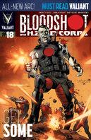 Bloodshot and HARD Corps Vol 1 18 LaRosa Variant