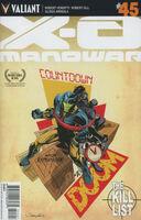 X-O Manowar Vol 3 45 Mooney Variant