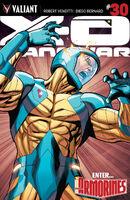 X-O Manowar Vol 3 30 Henry Variant
