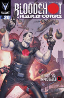 Bloodshot and HARD Corps Vol 1 20 Molina Variant