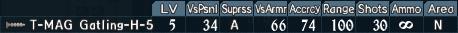 Gatling turret 4-5