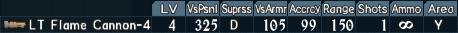 Flamethrower spec 1-4