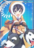 Dogsled Girl