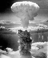 Bombing over nagasaki