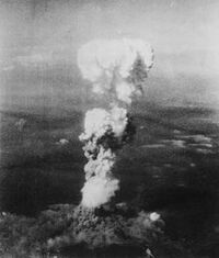 Bombing over hirosima