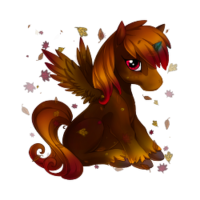 Leaf Litter Alicorn Baby