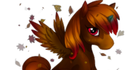 Leaf Litter Alicorn