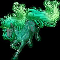 Emerald Wind Unicorn