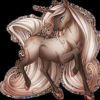 Faded Rose Unicorn V2