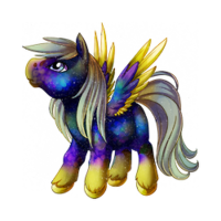 Galaxy Dust Pegasus Baby