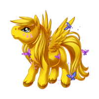Butterfly Dance Pegasus Baby
