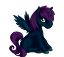 Midnight Shimmer Alicorn