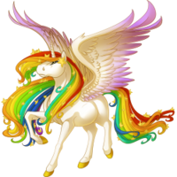 Celestial Rainbow Alicorn