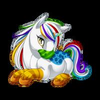Birthday Cheer 2014 Unicorn Baby