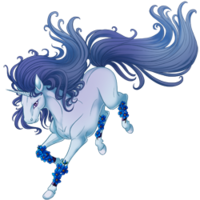 Forget Me Not Unicorn