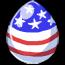 Old Glory Pegasus Egg