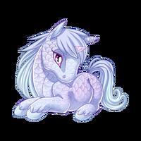 Ice Spirit Unicorn Baby