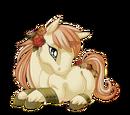 Antique Rose Unicorn