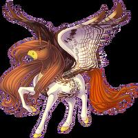 Red Tail Hawk Alicorn