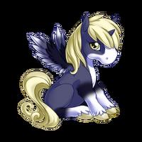 Paisley Alicorn Baby